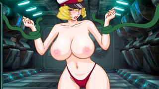 Space Tentacle Flogging porn game