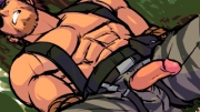 Adult game   Just a little game for all Solid Snake fans   Well This is Big Boss I think but hey, th...