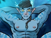 Awankar - Avatar gay sex game by Garyu.