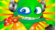 Have a fun this insane frog but in much best version. Odd frog will sing for you and dance as well. ...