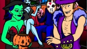This time Jake attends a Halloween party, and there are much of amazing chicks. Jake is hitting up o...
