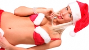 Hot blonde Natali is back for this Christmas strip poker special. Prove her that you\'re a better ca...