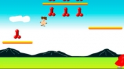 In this game you control small naked boy. Use your ARROW KEYS to move and pressSPACEBAR to jump. Aim...