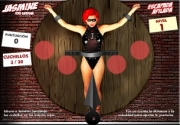 Your objective in this adult flash game is to throw knives so that they hit red circle targets on th...