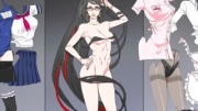 Dress-up the sexy Bayonetta in different costumes. There are 7 costumes in total, match them up and ...